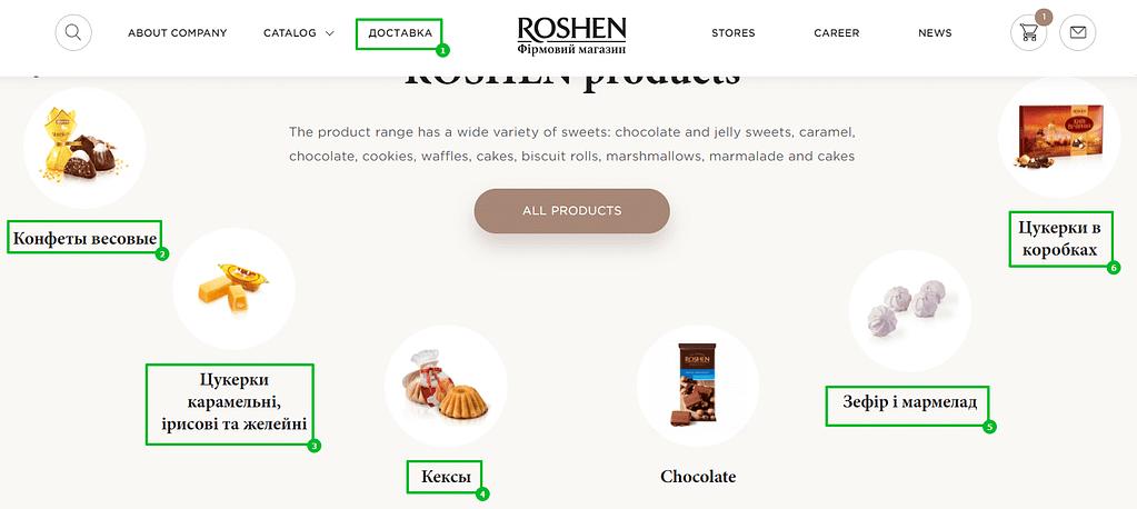 ошибки на английской версии сайта